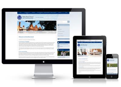 website maken voor meerdere schermen